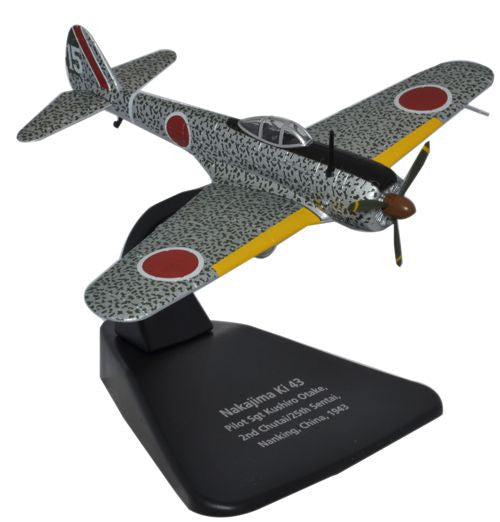 Oxford Diecast Nakajima Ki43 1:72 Scale Model Aircraft
