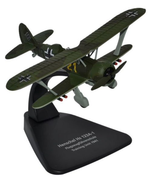 Oxford Diecast Henschel 123A 1:72 Scale Model Aircraft