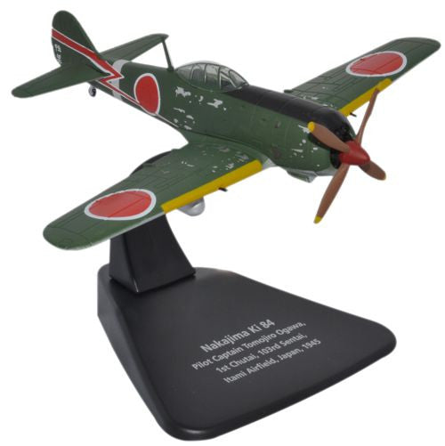 Oxford Diecast Ki-84 1:72 Scale Model Aircraft