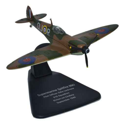 Oxford Diecast Supermarine Spitfire MkI 1940 1:72 Scale Model Aircraft