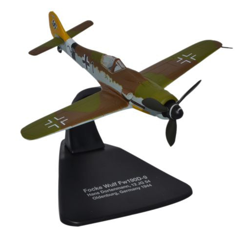 Oxford Diecast Focke Wulf 190D Germany 1944 1:72 Scale Model Aircraft