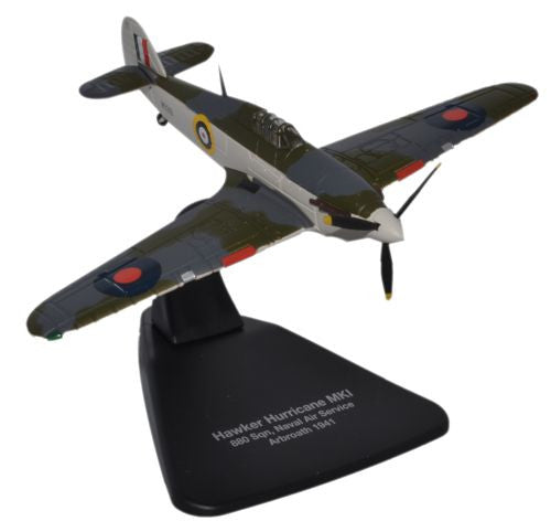 Oxford Diecast Hawker Hurricane Naval Air 1:72 Scale Model Aircraft