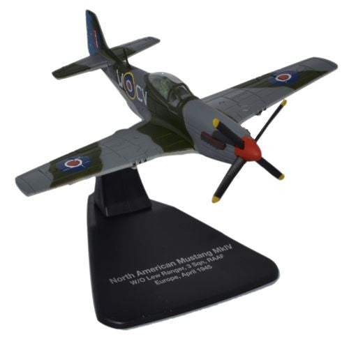 Oxford Diecast Mustang MkIV 1945 1:72 Scale Model Aircraft
