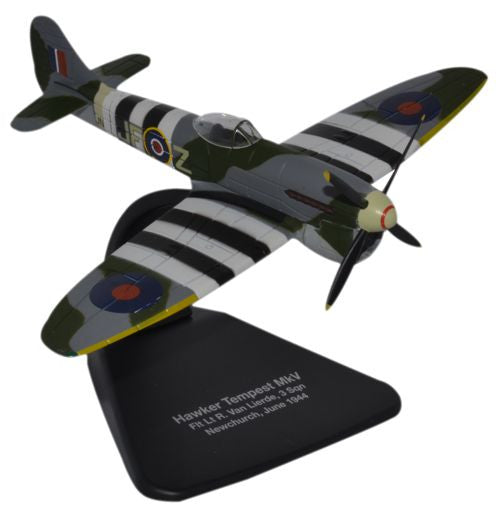 Oxford Diecast Hawker Tempest MkV Newchurch  1:72 Scale Model Aircraft