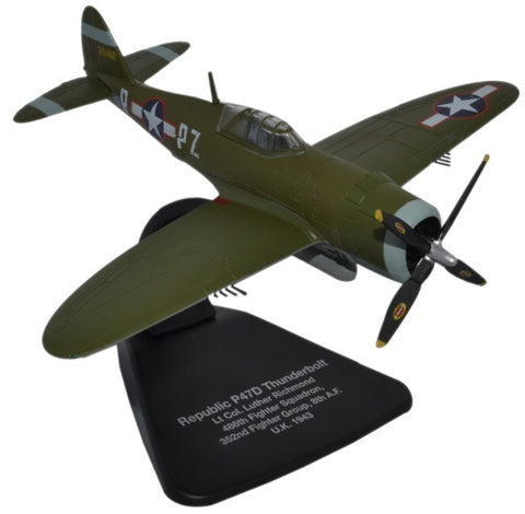 Oxford Diecast P47D Thunderbolt USAAF Europe 1:72 Scale Model Aircraft