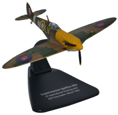 Oxford Diecast Spitfire Mk1 RAF Hawarden 1:72 Scale Model Aircraft