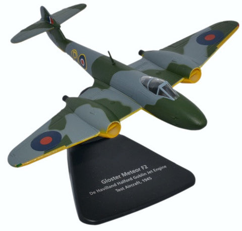 Oxford Diecast Gloster Meteor F2 Scale 1:72 Model Aircraft