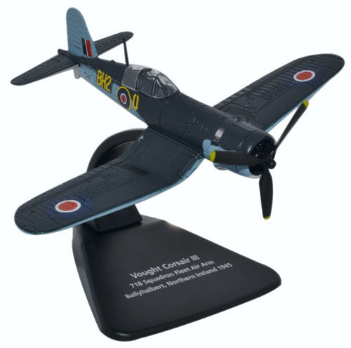 Oxford Diecast Vought Corsair Ballyhalbert 1:72 Scale Model Aircraft