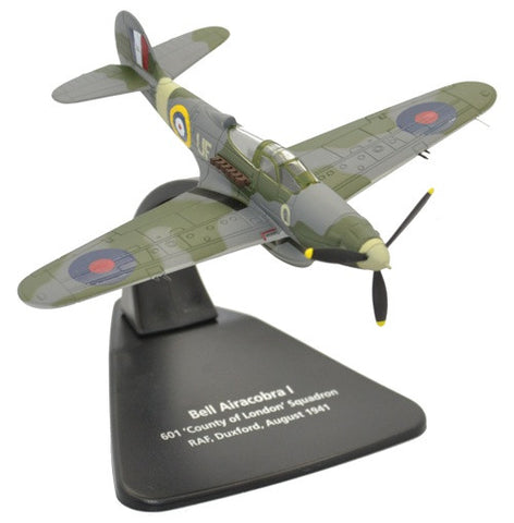 Oxford Diecast Bell Airacobra RAF Duxford Scale 1:72 Model Aircraft