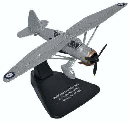 Oxford Diecast Westland Lysander Canada 1:72  Scale Model Aircraft