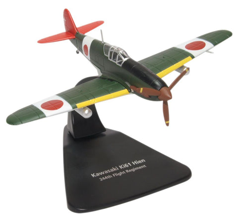 Oxford Diecast Kawasaki Ki-61 Hien 244th Flight Reg. Chofu Airfield 19