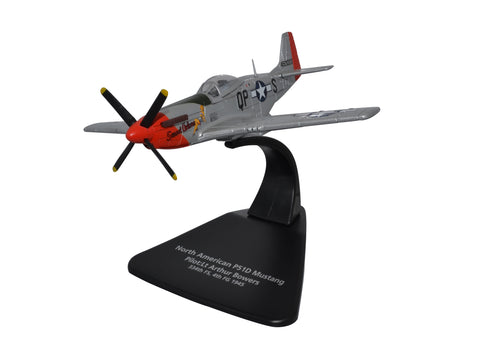 Oxford Diecast Mustang P51D Sweet Arlene - 2nd Lt Arthur  Reed Bowers