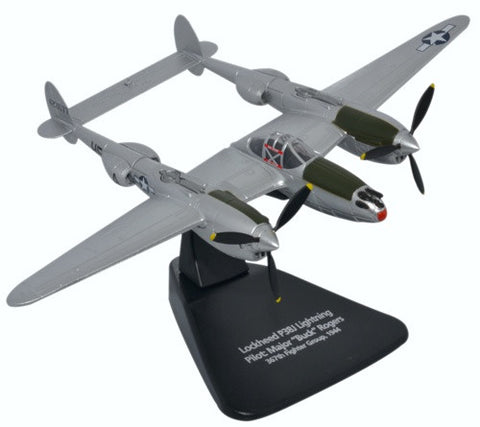 Oxford Diecast P38J Lightning 1:72 Scale Model Aircraft