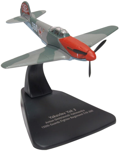 Oxford Diecast Yak 3 Anton Dmitrievich Yakimenko 150th Guards Reg 1945
