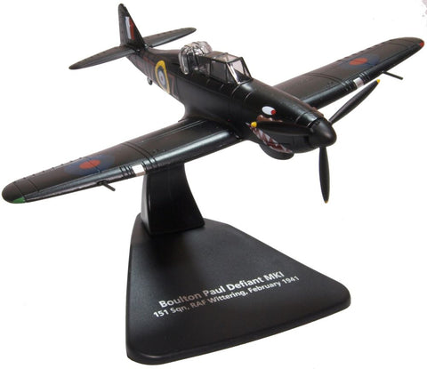 Oxford Diecast Boulton Paul Defiant