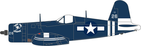 Oxford Diecast USMC VMF-512 Gilbert Islands 1945 Vought F4U-1d Corsair