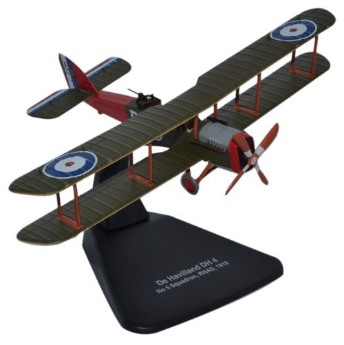 Oxford Diecast DH4 No5 Squadron  RNAS 1918 1:72 Scale Model Aircraft