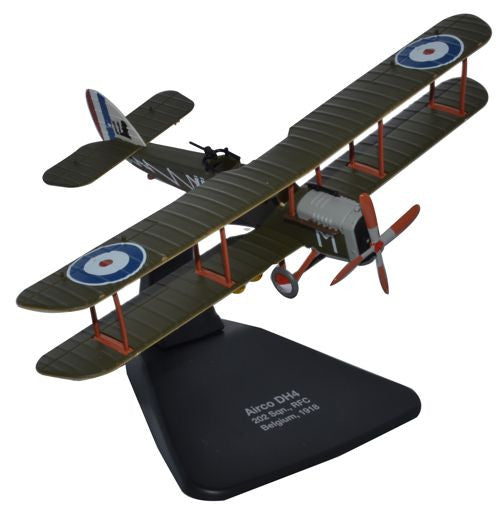 Oxford Diecast DH4 202 Sqn. RFC 1918 1:72 Scale Model Aircraft