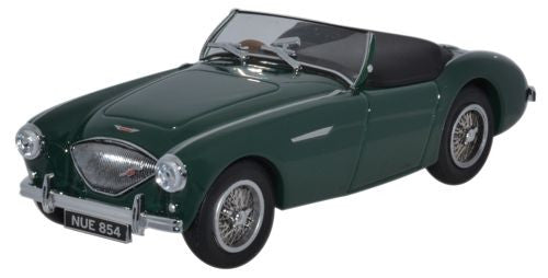 Oxford Diecast Austin-Healey 100 BN1 Spruce Green Open - 1:43 Scale