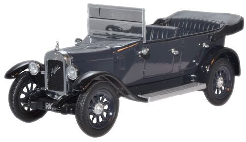 Oxford Diecast Cobalt Blue Austin Heavy Twelve - 1:43 Scale