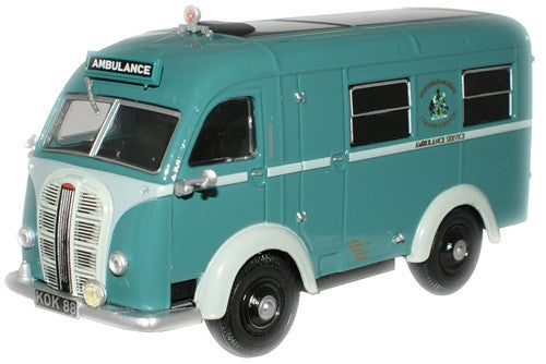 Oxford Diecast Nottingham Ambulance Austin Welfarer Ambulance - 1:43 S