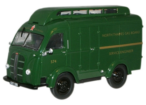 Oxford Diecast North Thames Gas Austin K8 Van - 1:43 Scale