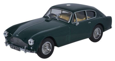 Oxford Diecast Aston Martin DB2 MkIII Saloon British Racing Green - 1: