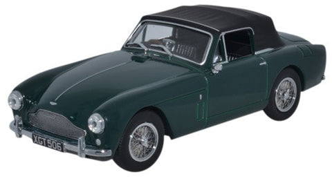 Oxford Diecast Aston Martin DB2 MkIII DHC DDark British Racing Green -