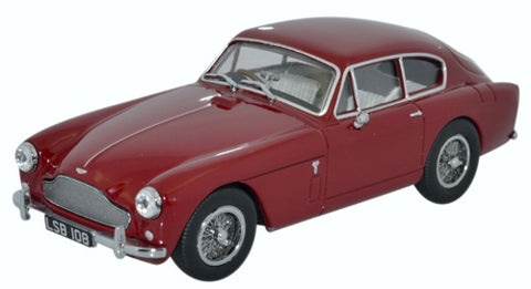 Oxford Diecast Aston Martin DB2 MKIII Saloon Peony Red
