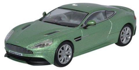 Oxford Diecast Aston Martin Vanquish Coupe Appletree Green - 1:43 Scal