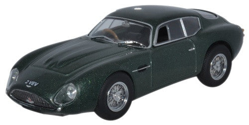 Oxford Diecast Aston Martin DB4GT Zagato 2 Vev Metallic Green