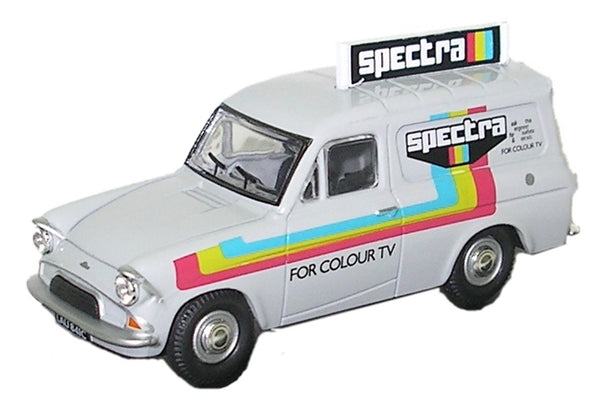 Oxford Diecast Spectra TV Rentals - 1:43 Scale