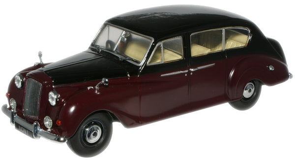 Oxford Diecast Black/Claret (Royal Family) Princess - 1:43 Scale