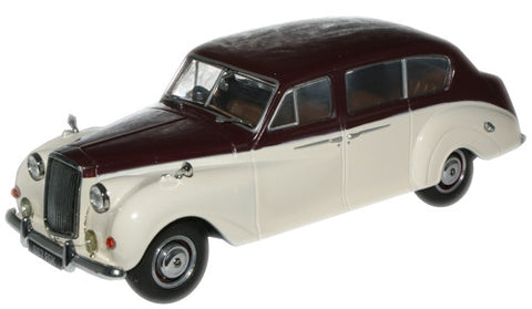 Oxford Diecast Maroon/Old English White Princess (Late) - 1:43 Scale