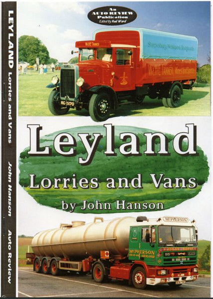 AUTO REVIEW AR02 Leyland Lorries and Vans by John Hanson - OxfordDiecast