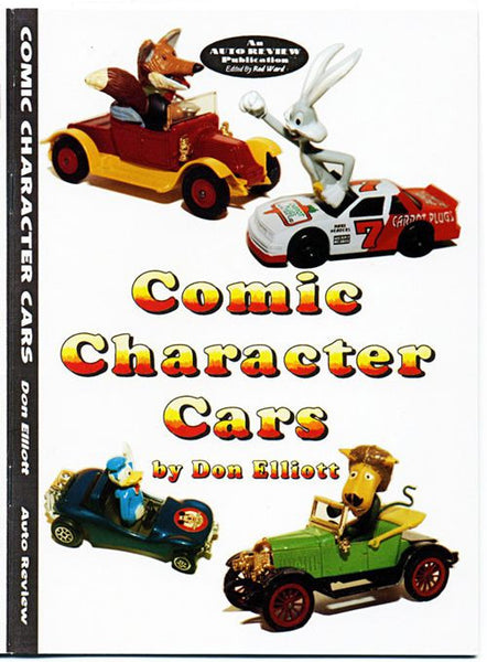 AUTO REVIEW AR03 Comic Character Cars By Don Elliott - OxfordDiecast