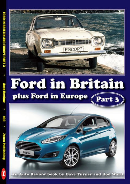 AUTO REVIEW AR100 Ford in Britain and Europe, Part 3 By Rod Ward - OxfordDiecast
