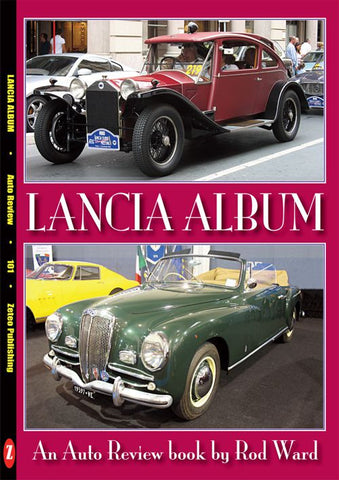 AUTO REVIEW AR101 Lancia Album By Rod Ward - OxfordDiecast