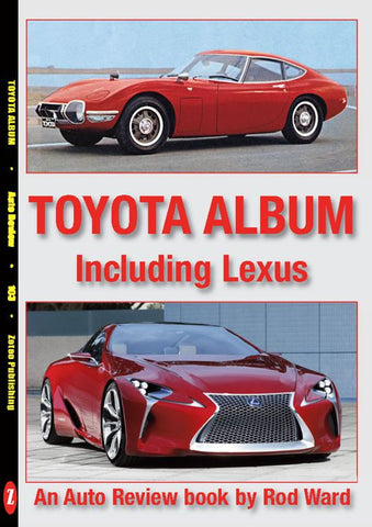 AUTO REVIEW  AR103 Toyota Album including Lexus By Rod Ward - OxfordDiecast