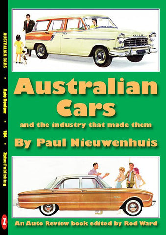 AUTO REVIEW AR104 Australian Cars by Paul Nieuwenhuis - OxfordDiecast