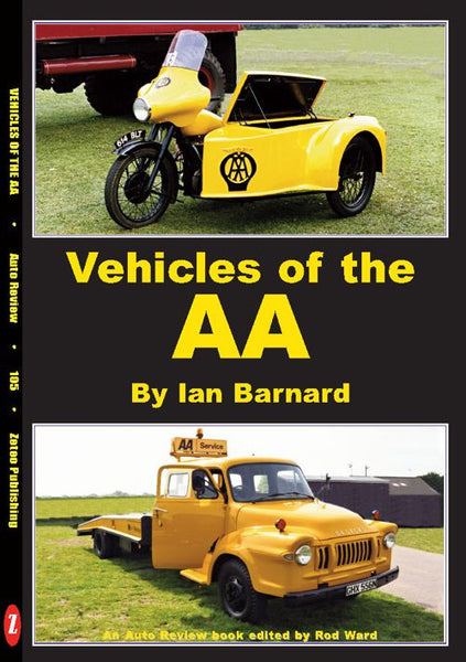 AUTO REVIEW AR105 Vehicles of the AA By Ian Barnard - OxfordDiecast