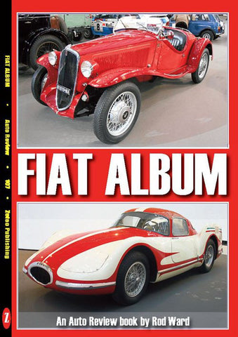 AUTO REVIEW AR107 Fiat Album By Rod Ward - OxfordDiecast