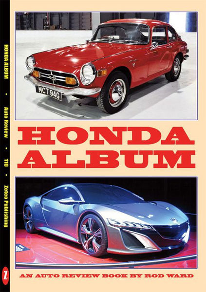 AUTO REVIEW AR110 Honda Album By Rod Ward - OxfordDiecast