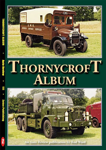 AUTO REVIEW AR111 Thornycroft Album By Rod Ward - OxfordDiecast