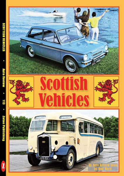 AUTO REVIEW AR113 Scottish Vehicles by Rod Ward - OxfordDiecast