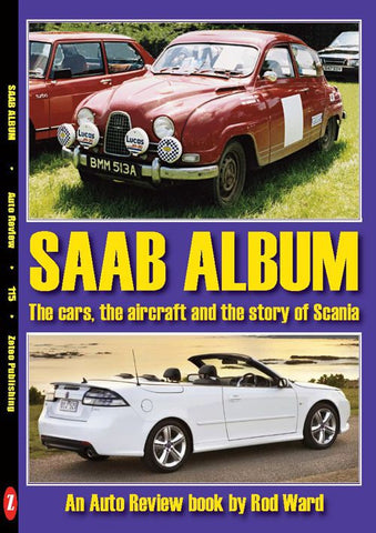 AUTO REVIEW AR115 Saab Album By Rod Ward - OxfordDiecast