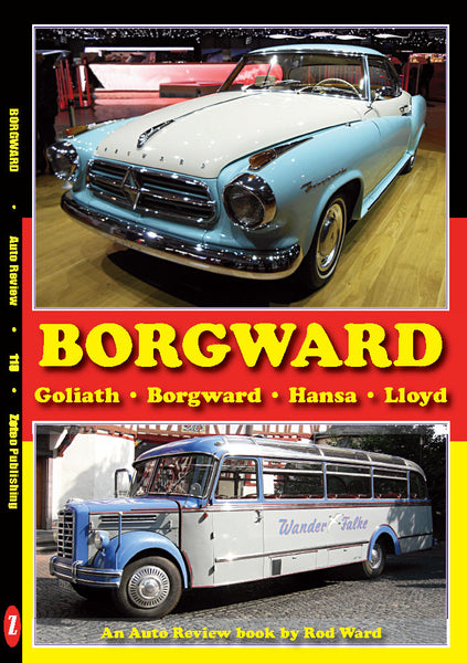 AUTO REVIEW Borgward Album by Rod Ward - OxfordDiecast