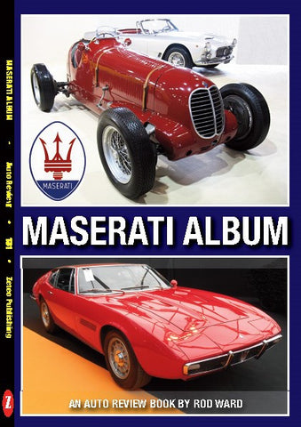 Auto Review Books The Maserati Album