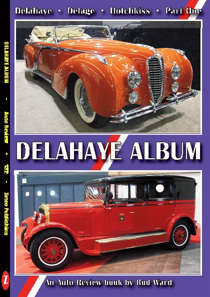 Auto Review Books Delahaye Album