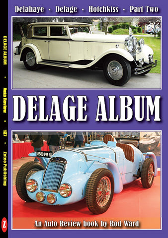 Auto Review Books Delage Album